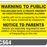 General Site Notices