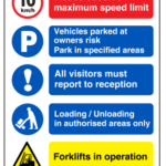 Multi Notice Signs