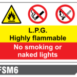 Fire Prevention & Explosive Hazard signs